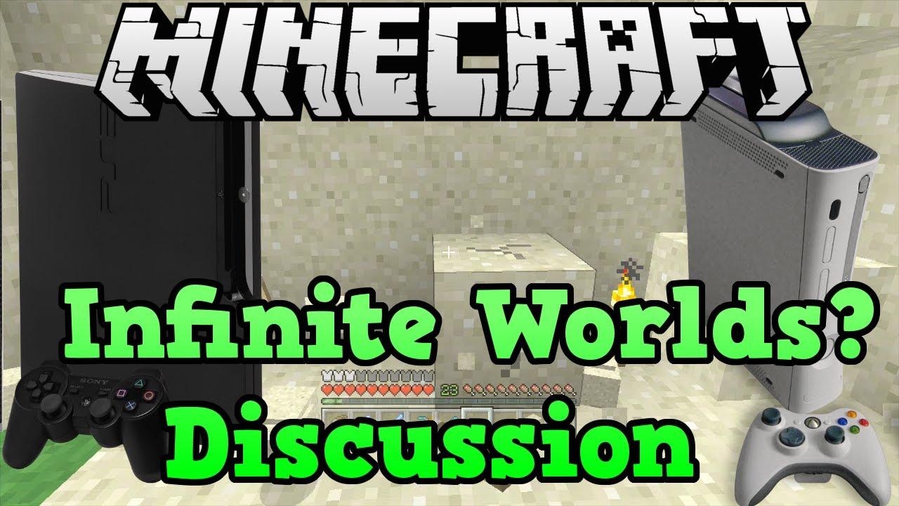 Minecraft Xbox 11 + PS11 Infinite World Update Discussion (Debunking)