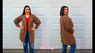 Crochet Urban Cardigan Tutorial (EN)