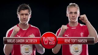 Niklas Landin Jacobsen vs Rene Toft Hansen