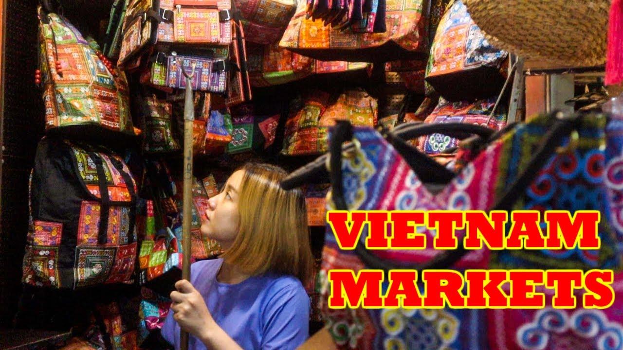 SAIGON'S Best MARKETS & MALLS | BEN THANH Night Market & Saigon Square Ho Chi Minh City