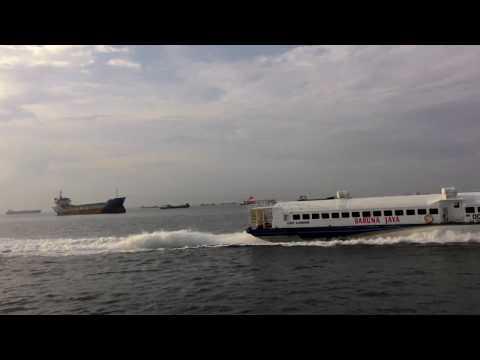 Melihat Perbatasan Laut Indonesia dari Harbour Bay Batam Selat Malaka