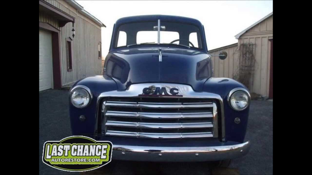 Classic Gmc Chevy Truck 1949 Total Ground Up Restoration
