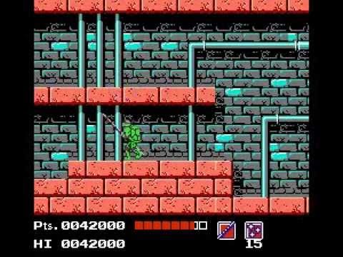 Teenage Mutant Ninja Turtles [NES] [Walkthrough]