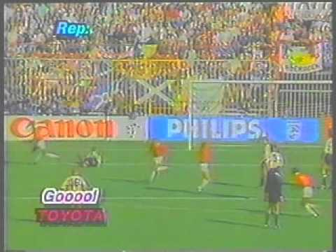 Costa Rica 1 : 0  Escocia (Gol De Juan Cayasso), Italia´90