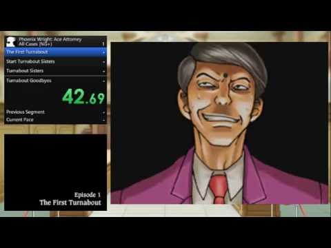 Phoenix Wright: Ace Attorney: All Cases (NG+) - 2:21:14 (Speedrun)