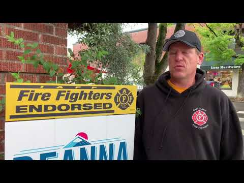 East Clark Professional Firefighter's President Formally Endorses Rusch
