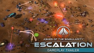 Ashes of the Singularity: Escalation Gameplay Trailer