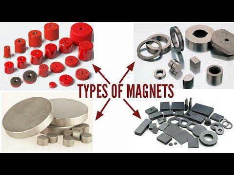 Types of magnets / Samarium Cobalt Magnets/Neodymium Magnets/ Alnico magnets/catagory of magnets