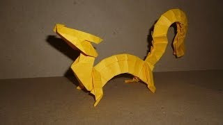 Origami Eastern Dragon Instructions (Joseph Wu)