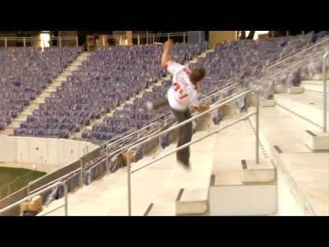 Ryan Doyle - Parkour at the RedBull Arena - New York