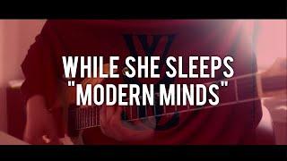 "While She Sleeps - ""Modern Minds"" Guitar Cover [HD]"