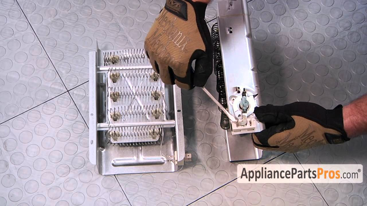 Dryer Heating Element (part #279838)-How To Replace - YouTube on
