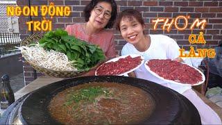 |TẬP 594| NGUYÊN NẮP LẨU MẮM RUỐC THỊT BÒ THƠM NGON CHO MẸ CHỒNG ĂN THỬ XEM PHẢN ỨNG?HOT POT EATING
