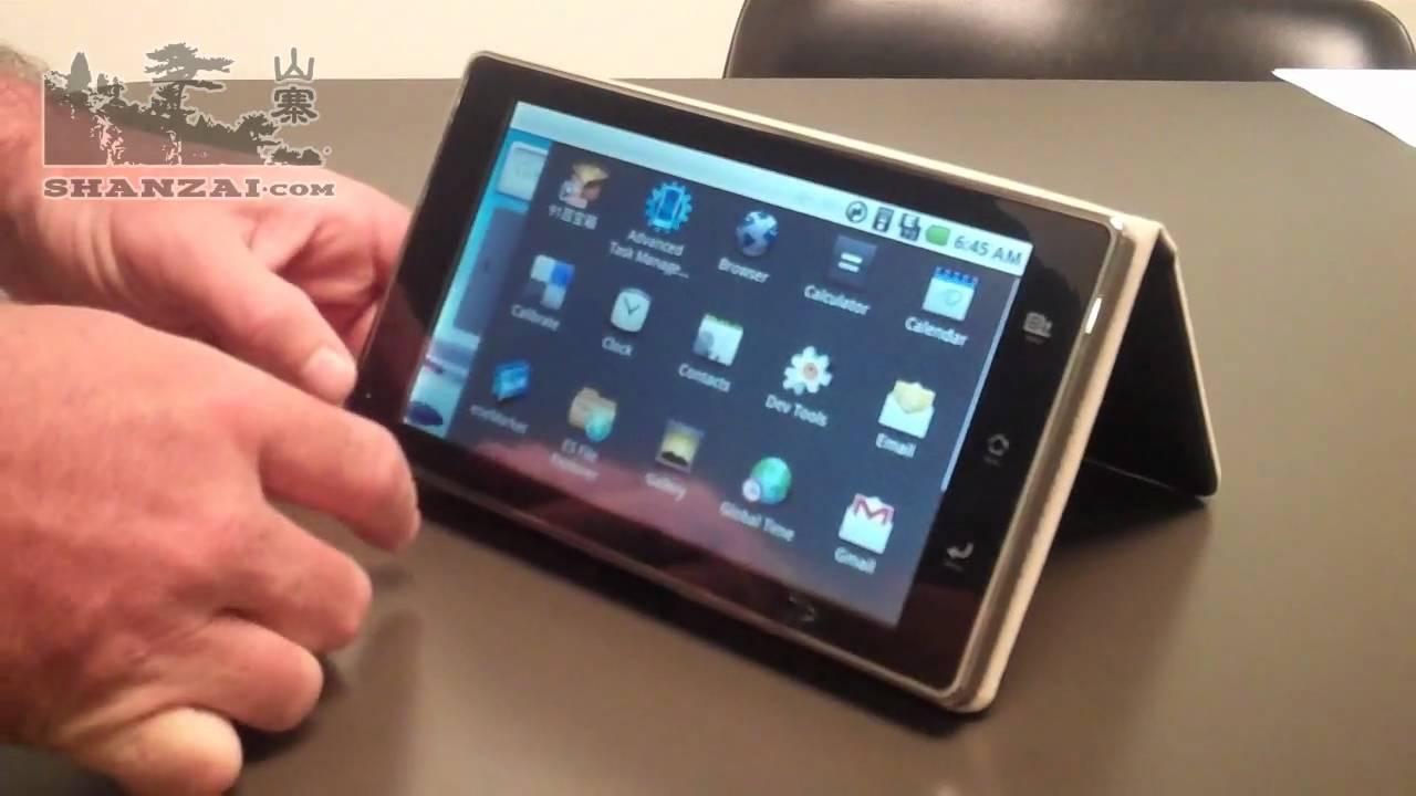 HeroTab RK7 Android 2.1 Tablet Reviewed