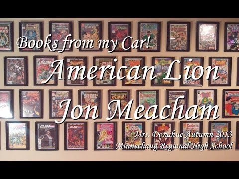 Books From My Car #3 - American Lion