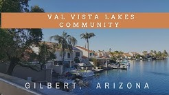 Val Vista Lakes in Gilbert, AZ| One of the best communities| Living in Arizona