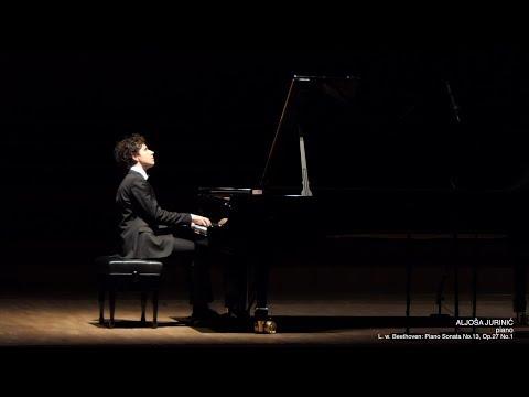 """Aljoša Jurinić - L. van Beethoven: Piano Sonata No. 13 """"Quasi una fantasia"""", Op. 27, No. 1"""