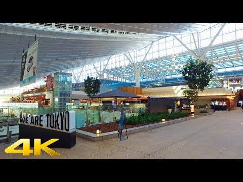 Walking in Haneda Airport, Tokyo part1【4K】