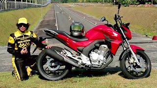 Honda CB Twister 250 Review, teste e apresentação completa