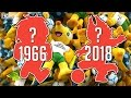 Todas Las Mascotas De Los Mundiales | 1966 - 2018