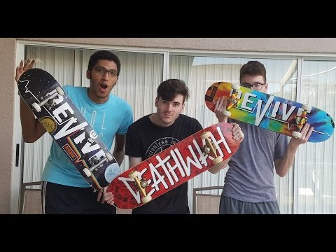 FIRST SKATEBOARD UNBOXING AND SETUP