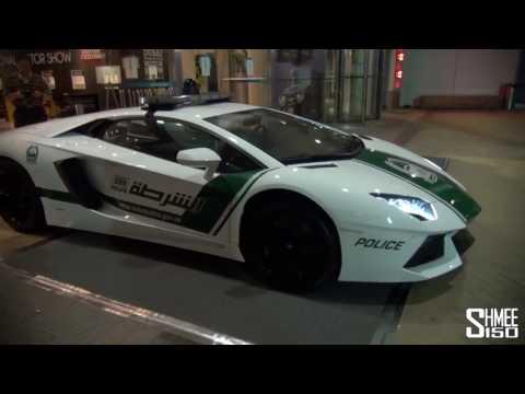 Dubai Police Supercars in Action