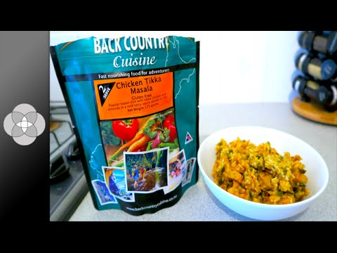 REVIEW Back Country Cuisine Freeze Dried Chicken Tikka Masala