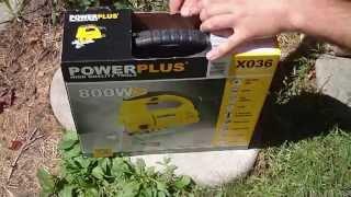Электролобзик PowerPlus X036 800w jigsaw. Тест и обзор.