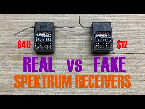 SPEKTRUM RECEIVER BROWN OUT CAPACITOR