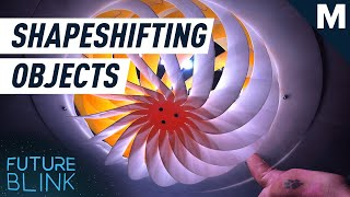 Watch These Seemingly Flat Objects Transform Into 3D Structures | Mashable