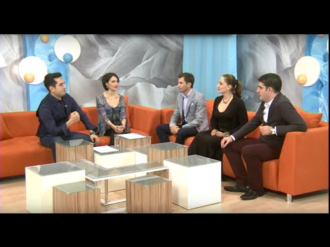 "KOHAR Representatives at Kentron TV/ ""Sksenq Noric"""