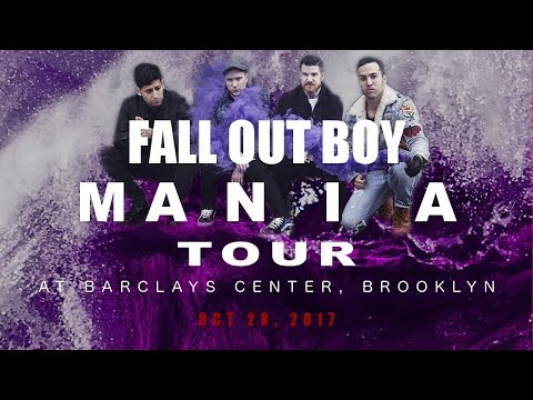 Oct 28, 2017 - Fall Out Boy MANIA Tour @Barclays Center, Brooklyn