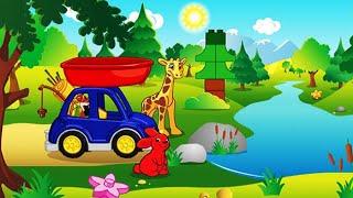 Мультфильм для малышей про животных. Лего ДУПЛО животные онлайн мультик. Lego DUPLO Animals