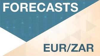 EUR / ZAR bleibt schwach