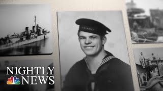WWII: Returns To Warship That Survived One Of The Worst Attacks In History   NBC Nightly News