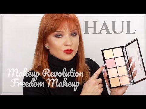 MEGA HAUL: Freedom Makeup + Makeup Revolution   kitulec