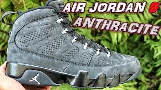Air Jordan Retro 9 Anthracite - Review + On Foot