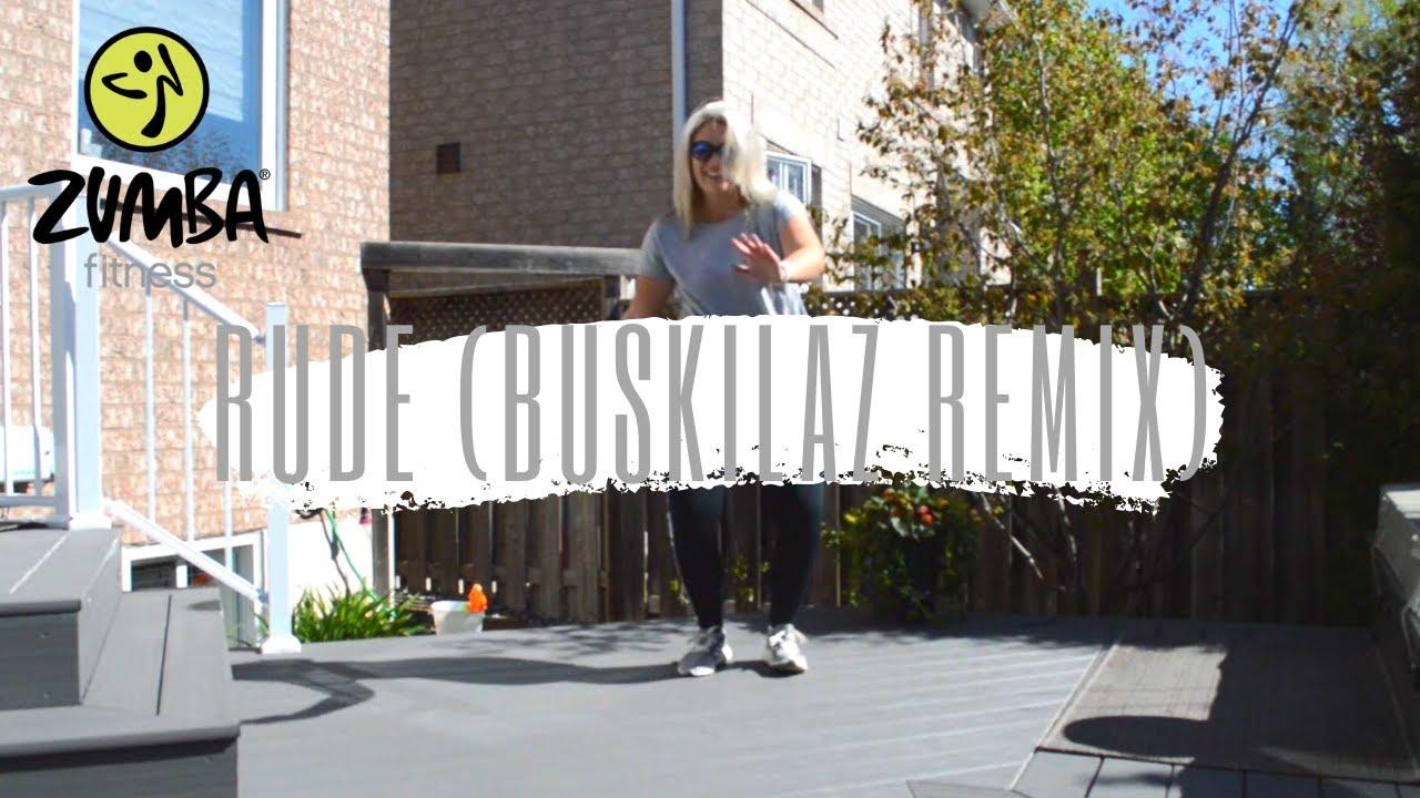 Rude (Buskilaz Remix) - Beach Boii (Original Video) | Zumba® Fitness/Dance Fitness Choreography