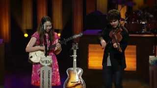 Sarah Jarosz On Playing the Grand Ole Opry