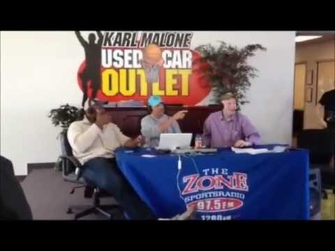 Karl Malone Used Car Outlet Grand Opening In Sandy Utah