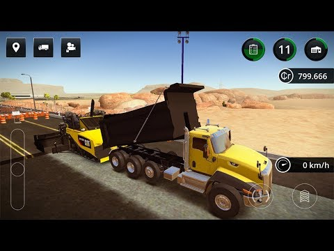 Construction Simulator 2 — SPECIAL JOB: ROAD REFURBISHMENT O