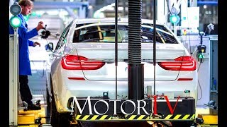 CAR FACTORY: BMW 7 SERIES PRODUCTION (G11-12) & ADVANCED PRODUCTION METHODS l Plant Dingolfing (GER)