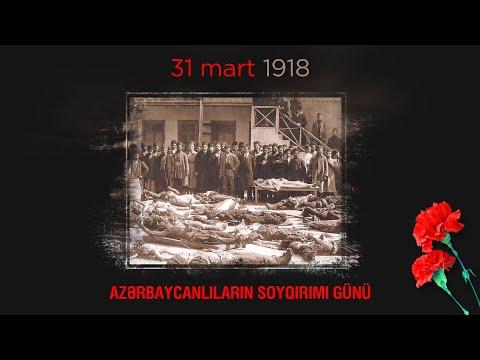 Bu gün 31 mart - Azərbaycanlıların Soyqırımı Günüdür