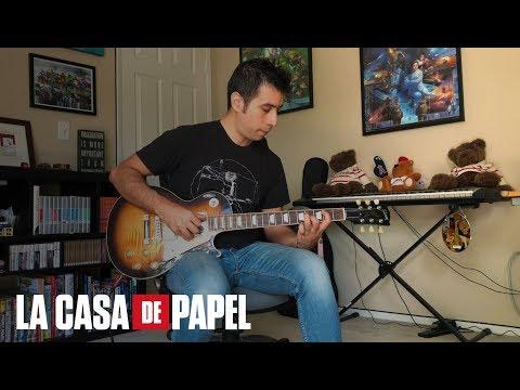 'La Casa de Papel' / 'Money Heist' Main Theme (Netflix) - Guitar cover + TABS by Marcos Moscat
