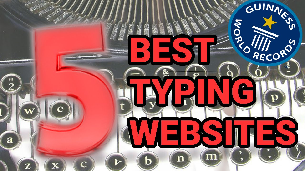 Top 5 Best Free Online Typing Website/Software For Beginners - YouTube