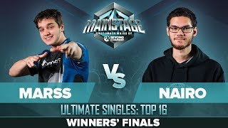 Marss vs Nairo - Winners' Finals: Ultimate Singles - Mainstage | Zero Suit Samus vs Palutena