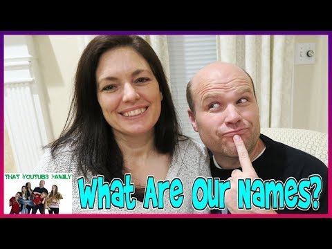 What Are Our Names? / That YouTub3 Family