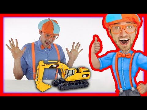 Thumbnail: Learn the Parts of an Excavator with Blippi Toys