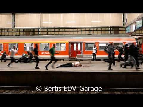 Anti Terrorübung Stuttgart HBF 11.09.2018 Showübung für Presse