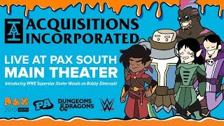 Acquisitions Incorporated Live - PAX South 2019: Blood and Cheese thumbnail